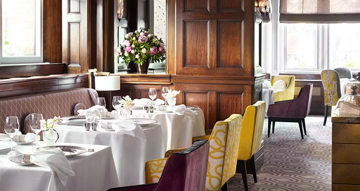 The Connaught dining room