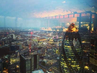 Duck & Waffle kitchen in the sky