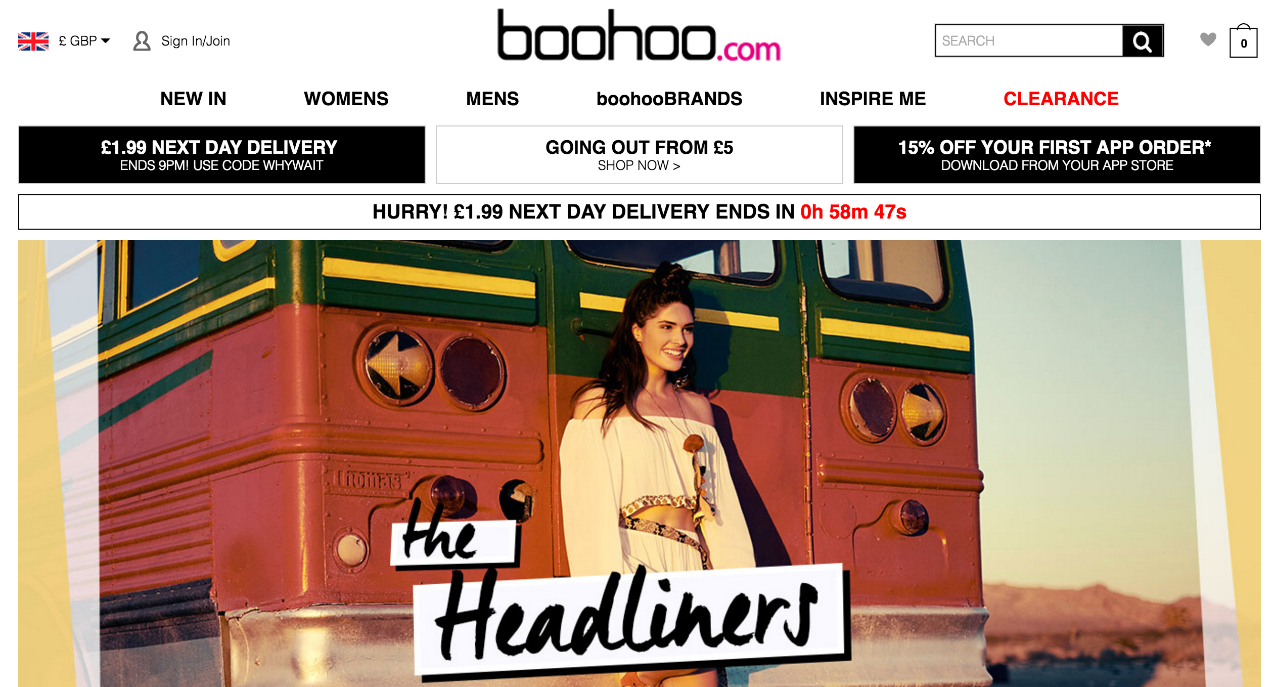 SITE web mode beauté roxane mls boohoo 2