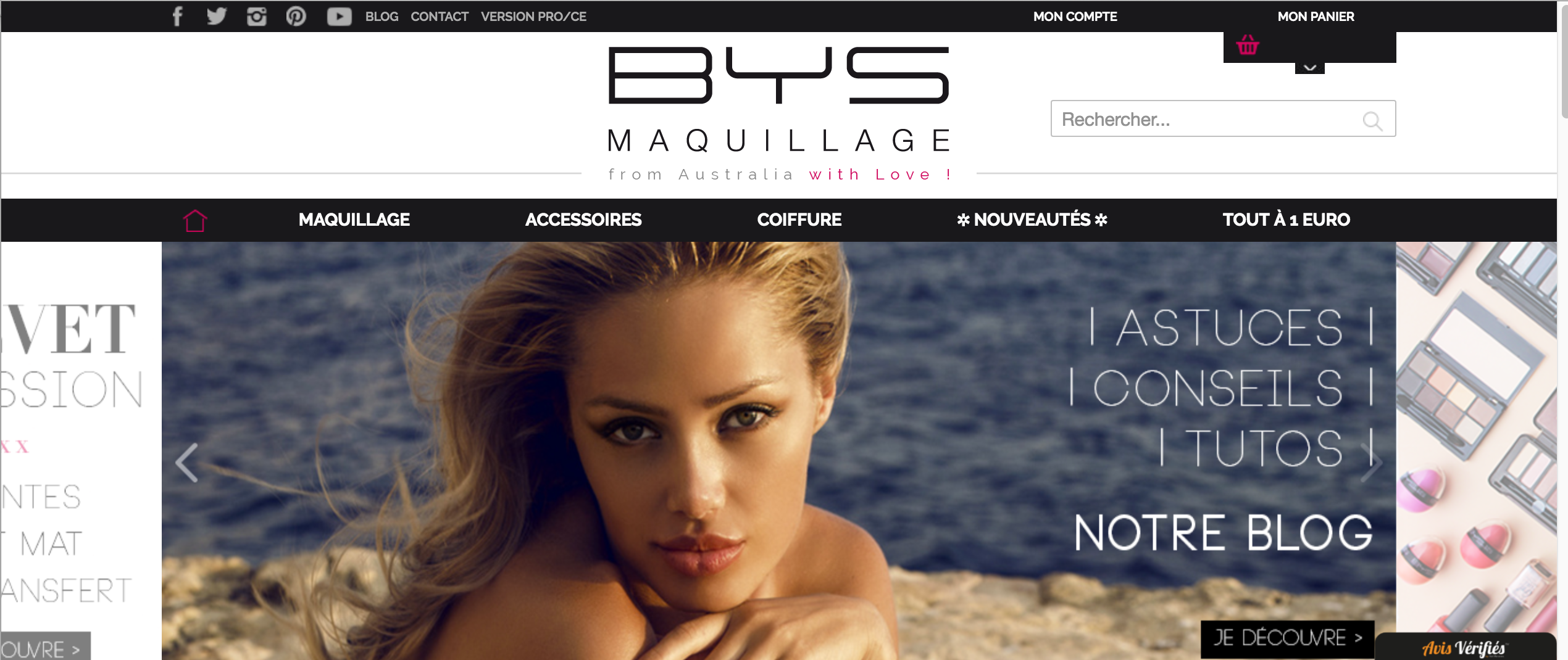 SITE web mode beauté roxane mls bys