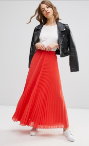 Plissé 2 Skirt long LF2L Roxane Mls