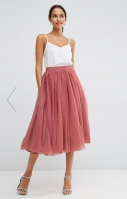 TULLE 2 MIDI Skirt long LF2L Roxane Mls